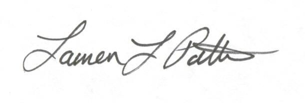 Lauren Patton signature
